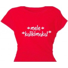 Mele Kalikimaka - Christmas Greeting Tee Shirt